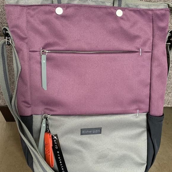 9508af29aa Sherpani Bags | Nwt Rfid Camden Totebackpackcrossbody | Poshmark